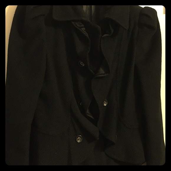 Gianfranco Rossi Jackets & Blazers - Black Retro Jacket